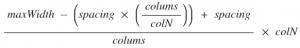cssGridEquation