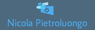 Nicola Pietroluongo - PHP, Javascript, Python, cloud computing, CSS, HTML, web developing and more